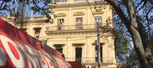 Colégio Brasileiro de Altos Estudos sobre o incêndio do Museu Nacional
