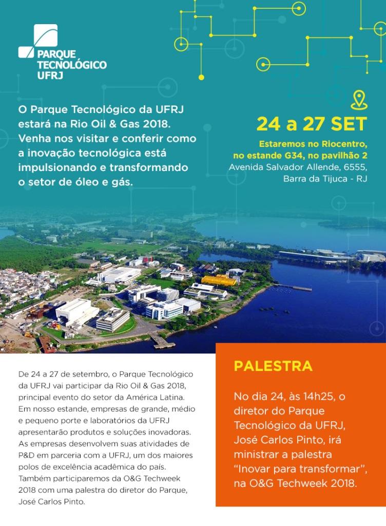 Convite Feira Rio Oil&Gas