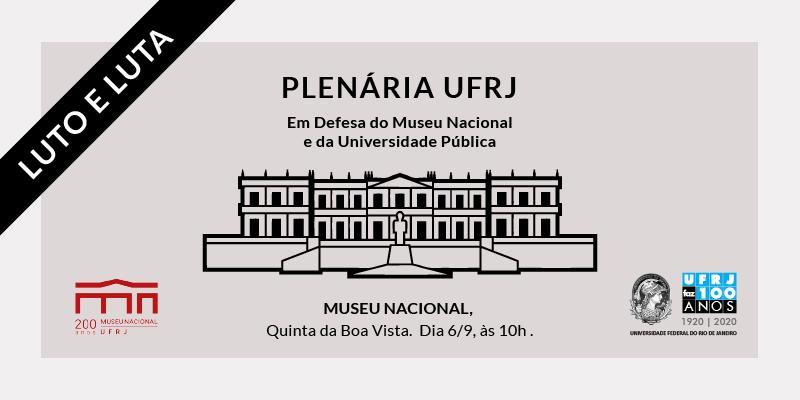 Plenária UFRJ - LUTO E LUTA
