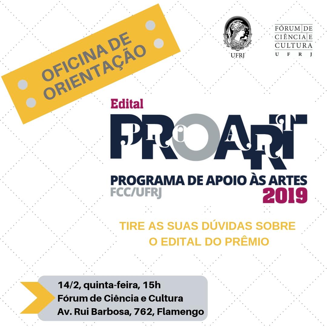 OFICINA II EDITAL PROART 2019